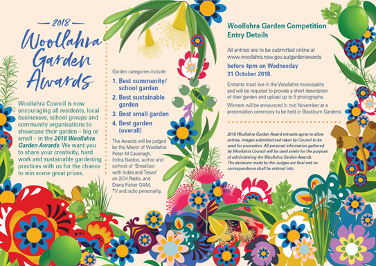 Garden Awards 2018 Brochure