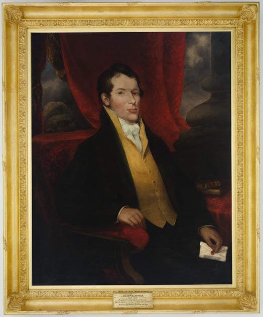 Portrait of John Macarthur