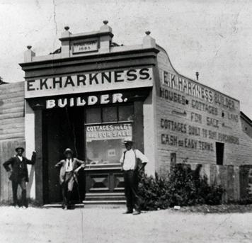 Edward Knox Harkness and Walter Scott Harkness