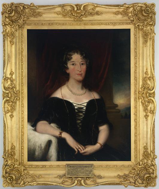 Portrait of Elizabeth Macarthur