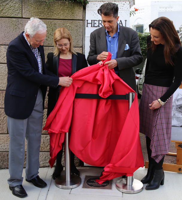 James Francis (Frank) Hurley plaque unveiling