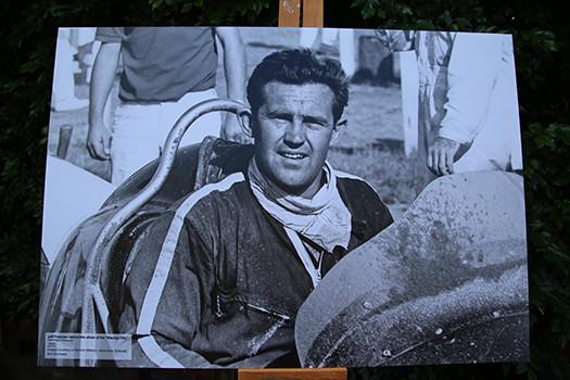 Australian Speedcar Champion Jeffrey Freeman honoured with plaque in Paddington