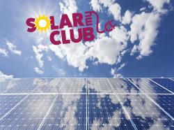 Solar my club with solar panels