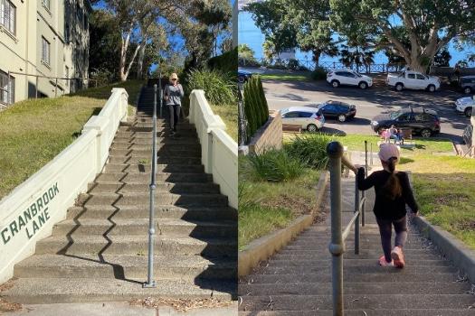 Cranbrook Stairs, Rose Bay