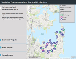 Map of Sustainability Projects