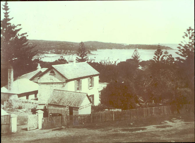 Photo of the house Clovelly in Watsons Bay.