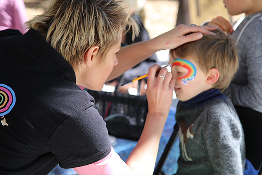 Face painting - Parsley Bay