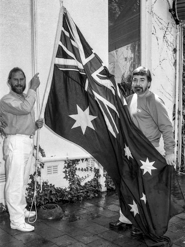 Alan Morris Flag