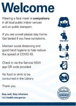 Masks poster 18 June 21