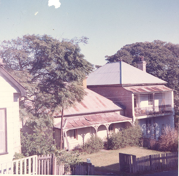Image from an album of coloured photographs of Edgecliff dating from the mid 1960s - much of this area was extensively redeveloped during the 1970s with the construction of the Edgecliff Centre and the Edgecliff Interchange. Woollahra Libraries Digital Archive PF004610l.