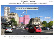 3D model of Edgecliff Centre