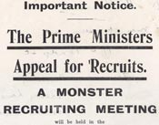 Monster recruitment flyer