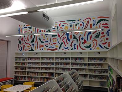 Library Mural Paddington Library - Nadia Hernandez