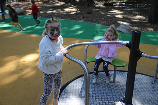 Everyone can play at Parsley Bay's new inclusive playground