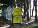 Rose Bay Park dinghy rack