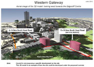 3D model of Western Gateway: 73-79 New South Head Road