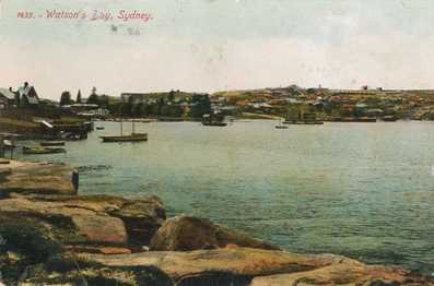 Christina Stead - View of Watsons Bay from Laing Point