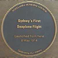Sydney's First Seaplane Flight