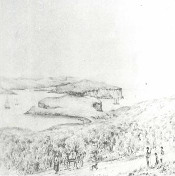 Drawing of area facing the Heads