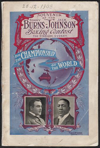 World Heavyweight Boxing Championship Title Fight 1908