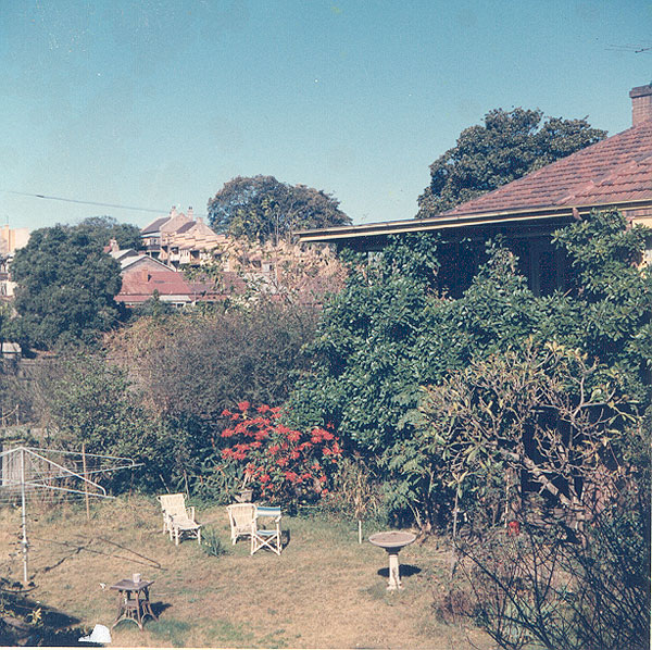 From an album of coloured photographs of Edgecliff dating from the mid 1960s - much of this area was extensively redeveloped during the 1970s with the construction of the Edgecliff Centre and the Edgecliff Interchange. Woollahra Libraries Digital Archive PF004610w.