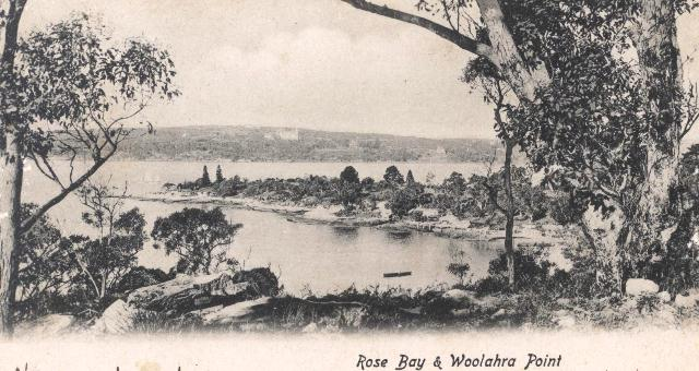 Postcard of Woollahra Point, ca. 1905
