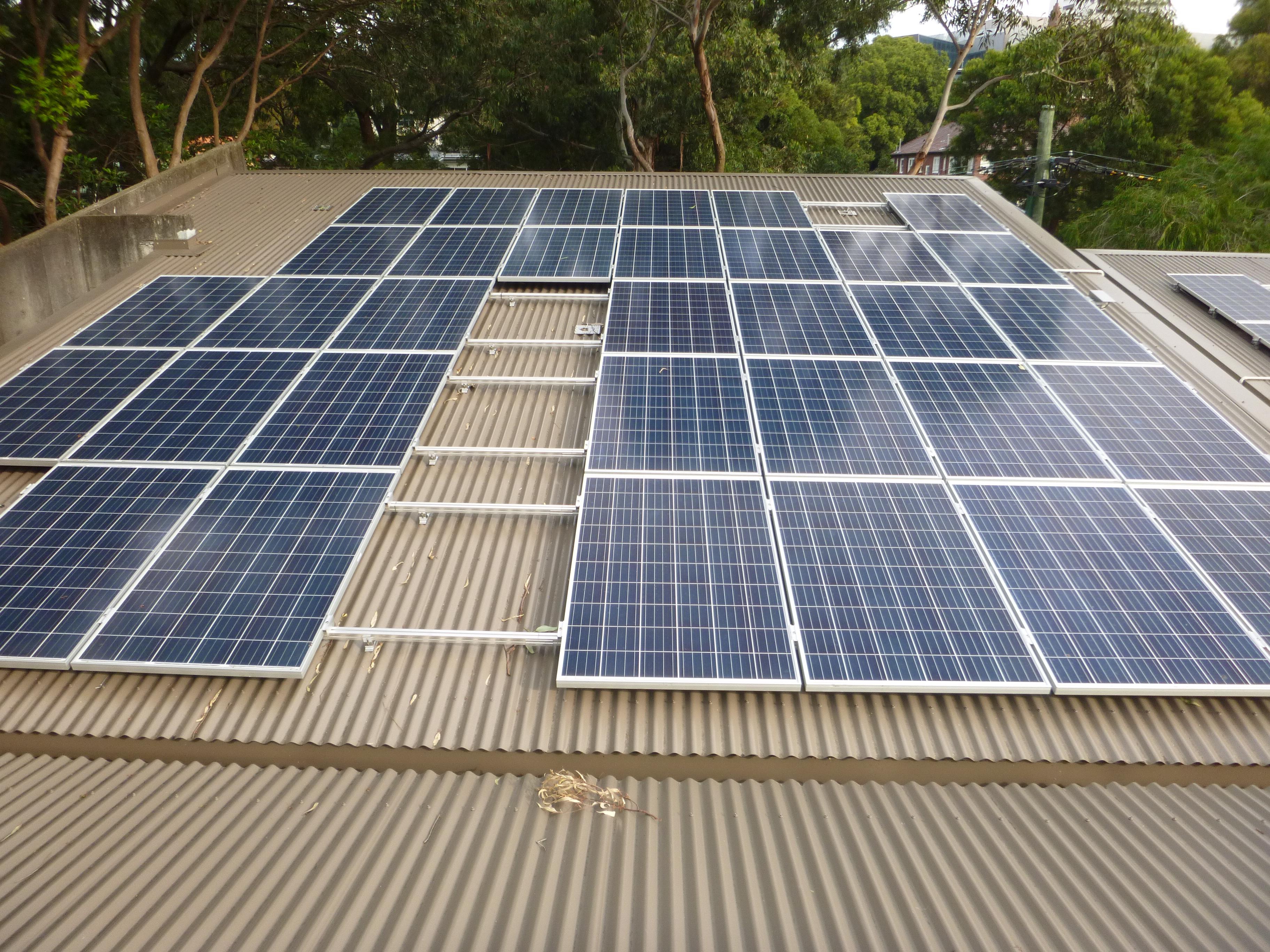 Fletcher Street Solar Installation