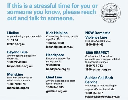 COVID mental health poster