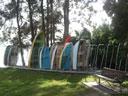Tingira Memorial Park dinghy rack