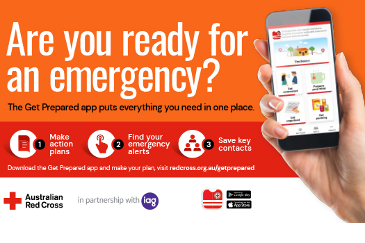 Are you ready for an emergency? Download the Get Prepared app