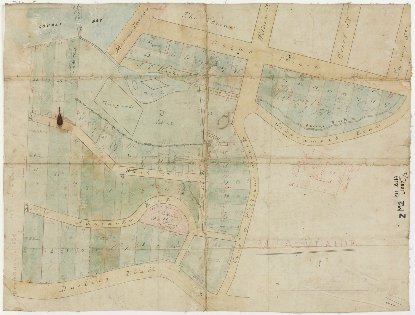 Mt Adelaide map