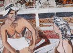 Murray Rose Pool murals