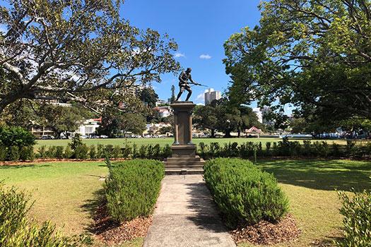 Double Bay War Memorial garden upgrade