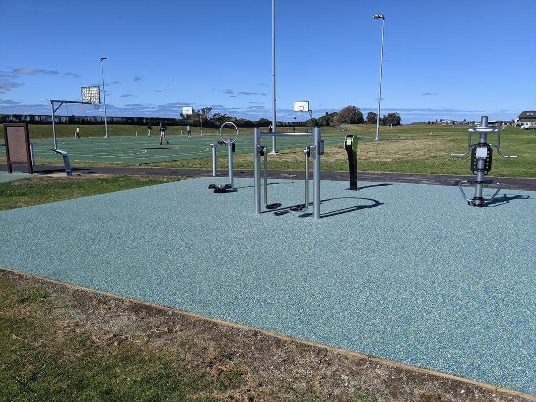 Christison Park New Fitness Equipment