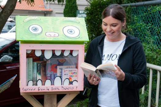 Street Libraries in Woollahra