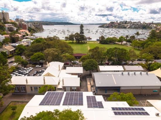 Double Bay Public School Rooftop Solar