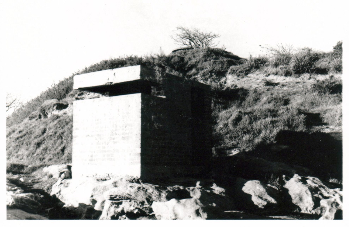 Laings Point, Watsons Bay, World War 2 defences, 1958. <em>Woollahra Libraries Digital Archive pf004022</em>.