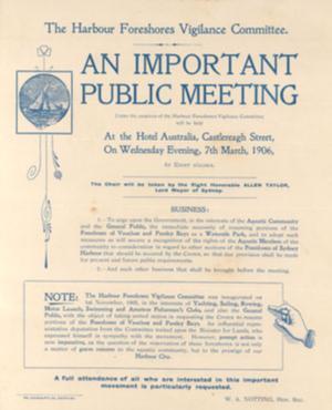 Handbill 1906