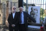 Plaque unveiling  - World Heavyweight Championship title fight 1908 – Johnny Lewis and Charkey Ramon