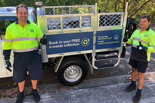 Free e-waste collection service