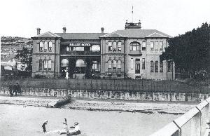 The Palace Hotel at Watsons Bay, c.1912.