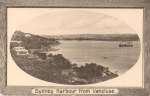Sydney Harbour from Vaucluse
