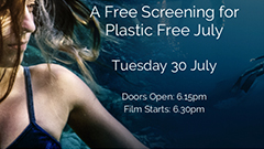 Free Screening - Blue the Film for Plastic Free July