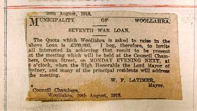Seventh War Loan ad