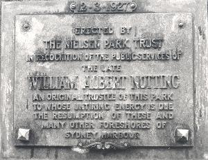 Notting plaque