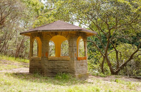 Cooper Park - picnic hut