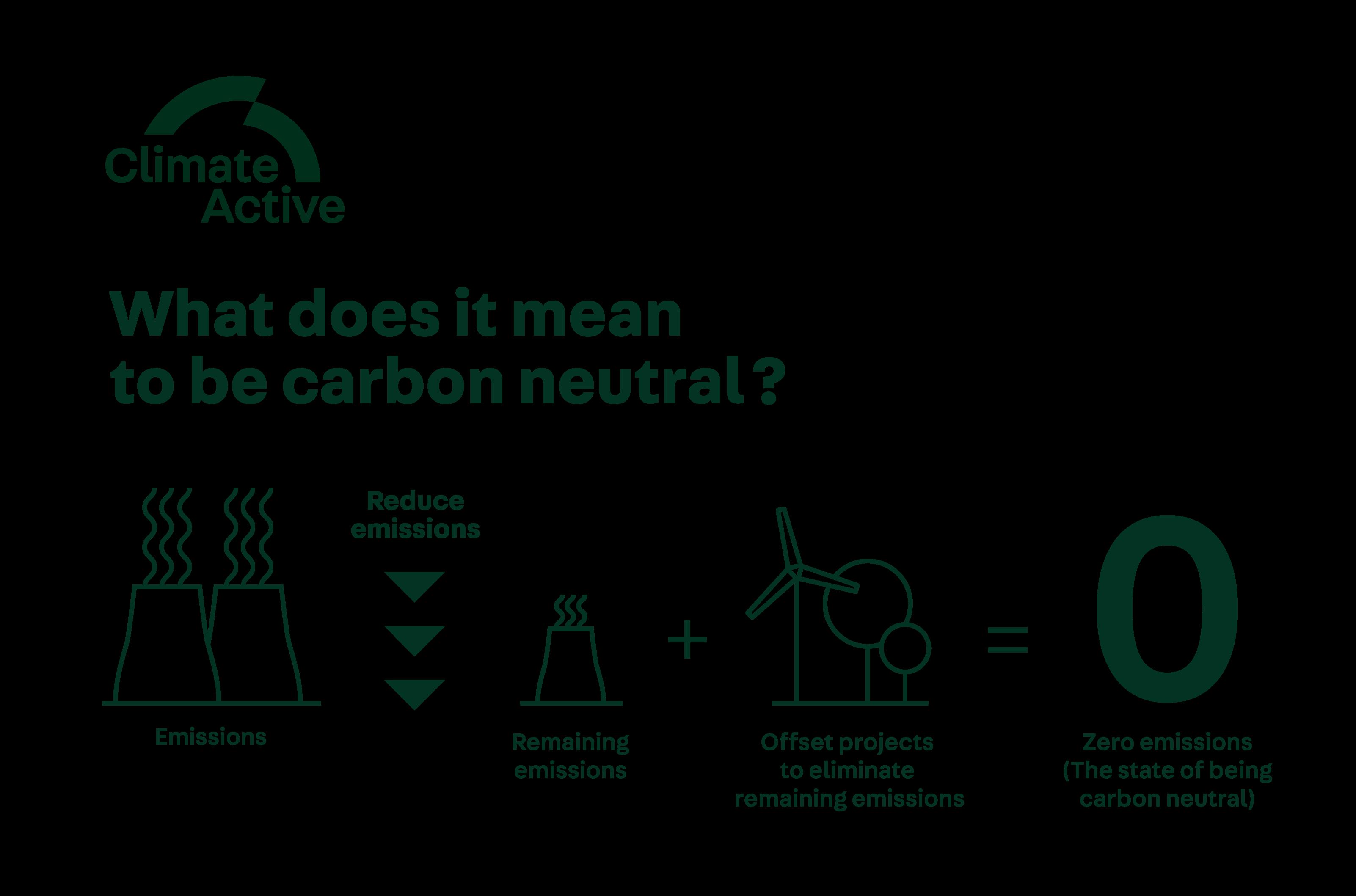 Carbon neutral graphic