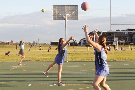 New multi-purpose courts open at Christison Park