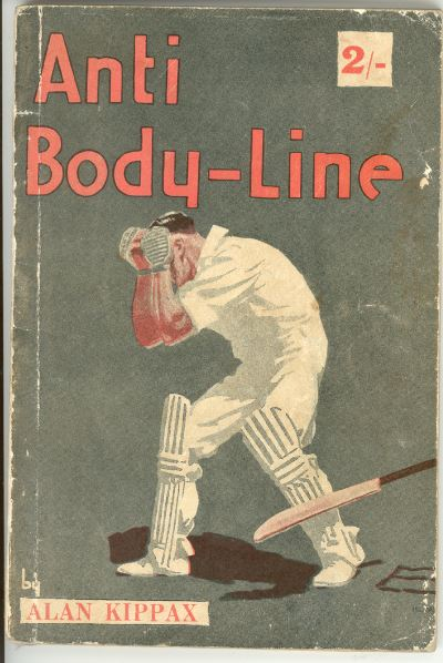 Book cover for 'Anti-bodyline