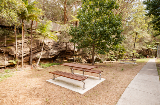 Cooper Park - picnic benches